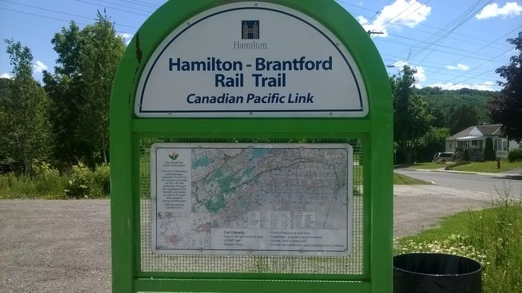 The Hamilton to Brantford Rail Trail