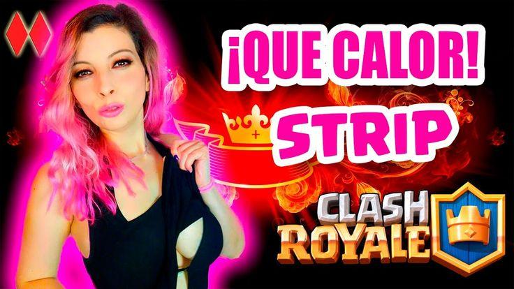 STRIP CLASH ROYALE ABRIENDO COFRES | DESNUDA O RETO