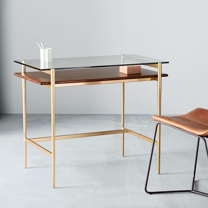 Mid Century Art Display Mini Desk Mini Desk Mid Century Desk Modern Desk