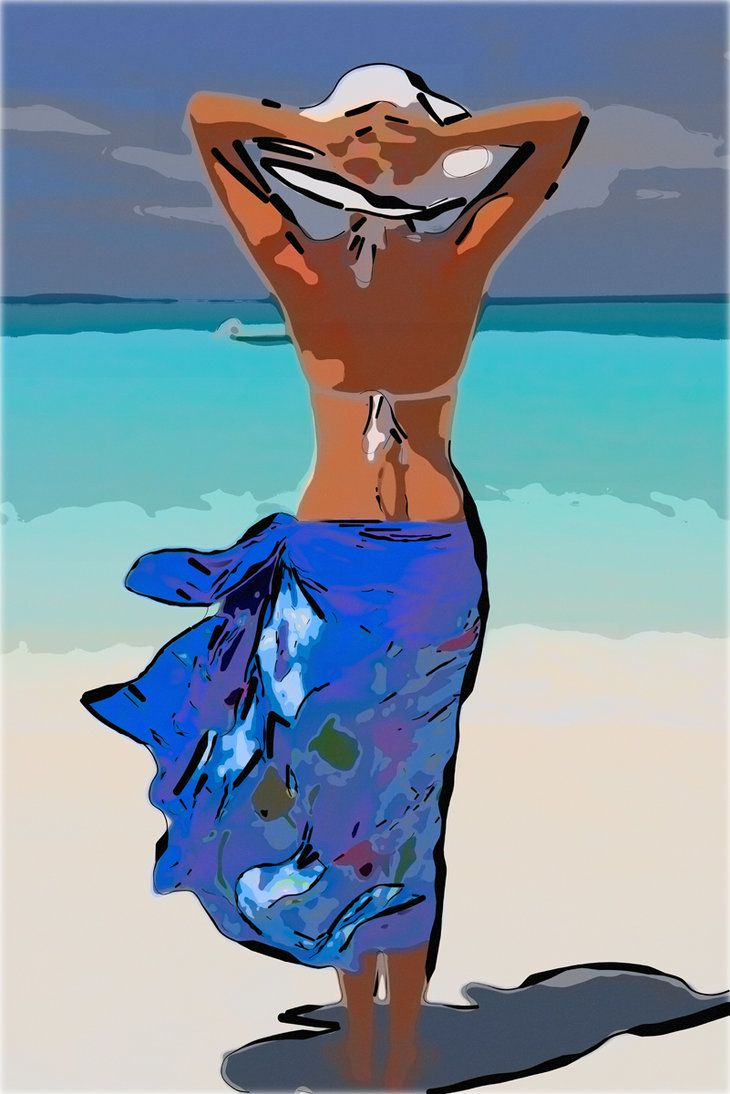 Beach Poster by ~dive4phil on deviantART
