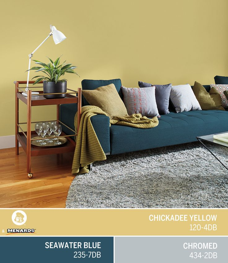 add some life to your living room with the energetic hues of dutch boys march color - Enrob Color