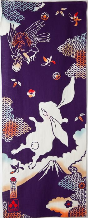 【楽天市場】[ちきりや] 本染め 手ぬぐい 兎柄 日本製 和柄 手拭い チキリヤ CHIKIRIYA うさぎ:ココチヤ