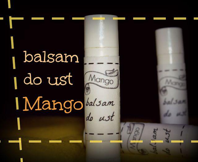 Przeciętna Polka: Balsam do ust Mango