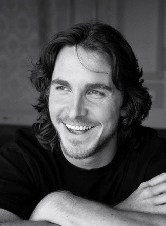 Christian Bale: HE HAS A BEAUTIFUL SMILE.....HE RARELY SMILES. (HE FROM WALES)
