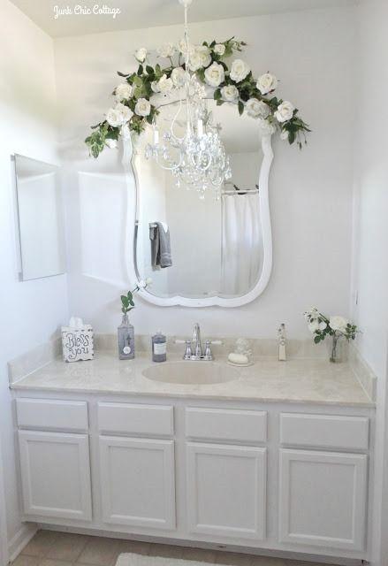 44 Schone Shabby Chic Badezimmer Dekorationsideen Badezimmer Deko