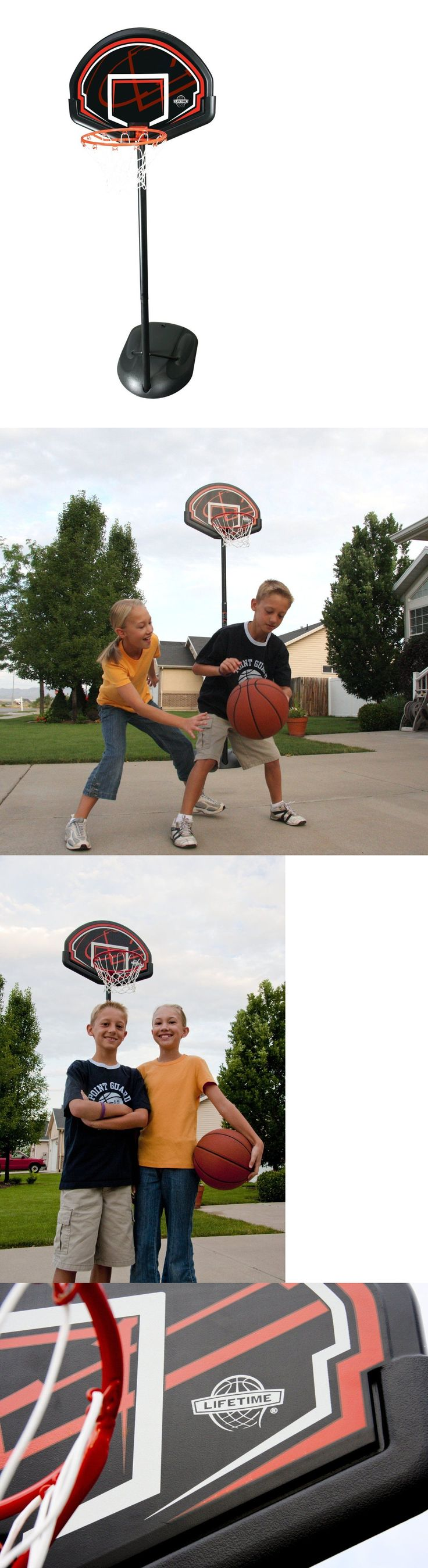 Backboard Systems 21196: Lifetime Basketball System, Backboard Youth Portable Basketball Goal, 90022 BUY IT NOW ONLY: $68.99