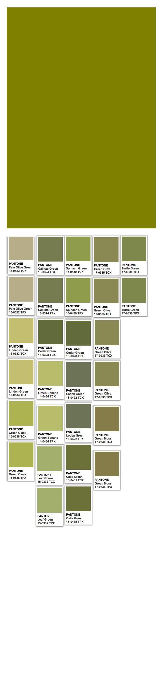 verde oliva pantone - Pesquisa Google