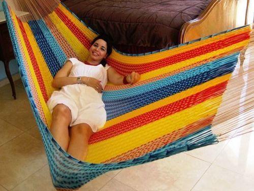 Matrimonial Mayan Hammock - Multi Colored