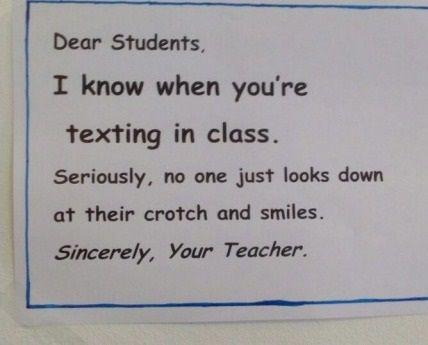 Dear Students...