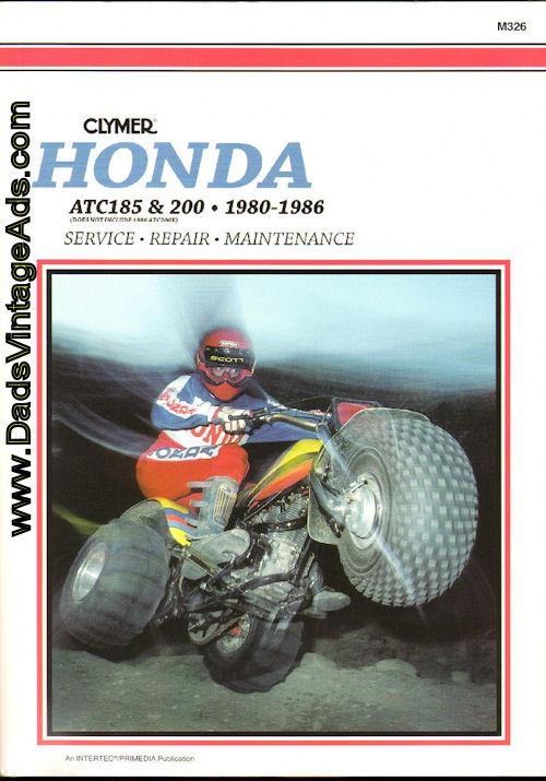 honda 200m service manual 1984 3 wheeler