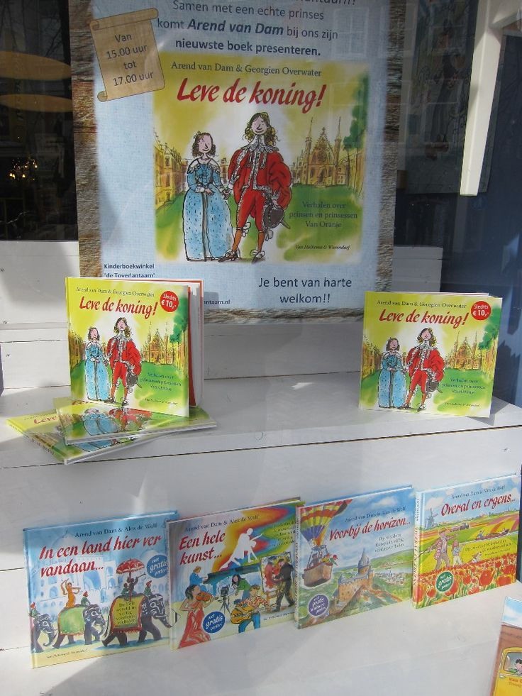 Echte voorleesboeken; de boeken van Arend van Dam, maar ook geschikt voor kinderen om waargebeurde verhalen te lezen .....en te blijven lezen.