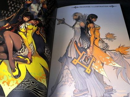 Magna Carta Ps2 Game Hyung Tae Kim Art Book | otaku.com