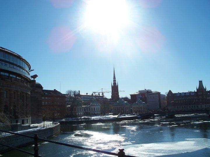 Stockholm in the Spring