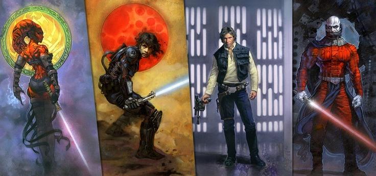 Fantastic Star Wars Illustrations by Terese NielsenStars Wars Stuff, Fantastic Stars, Wars Illustration, Wars Artworks, Star Wars