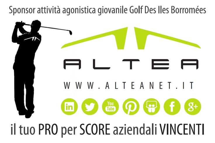 ALTEA rinnova il proprio impegno e diventa sponsor dell'attività agonistica giovanile del Golf Des Iles Borromées per la stagione 2013 - 2014. Forza ragazzi! Visita il sito www.golfdesilesborromees.it per conoscere questo splendido percorso panoramico sul Lago Maggiore!