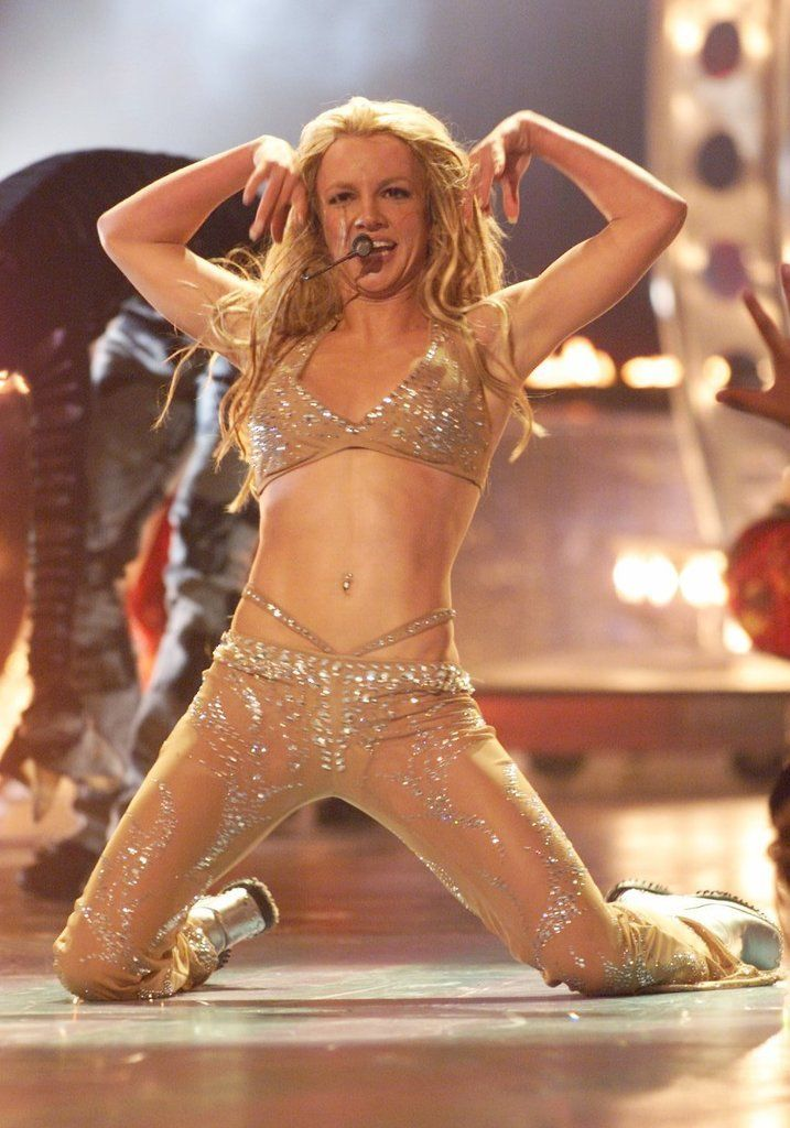 Britney Spears performing in September 2000.