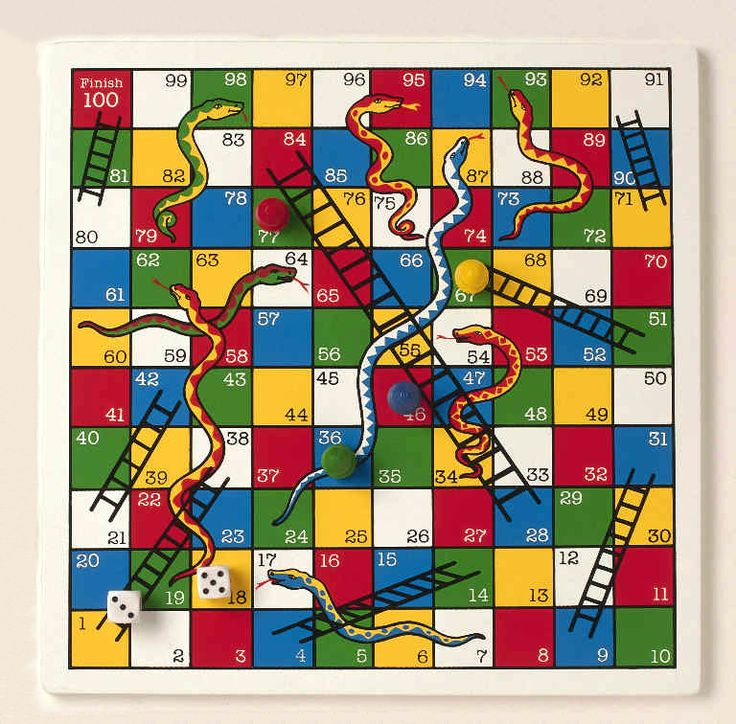 Snakes and Ladders - Another big game when I was very little.