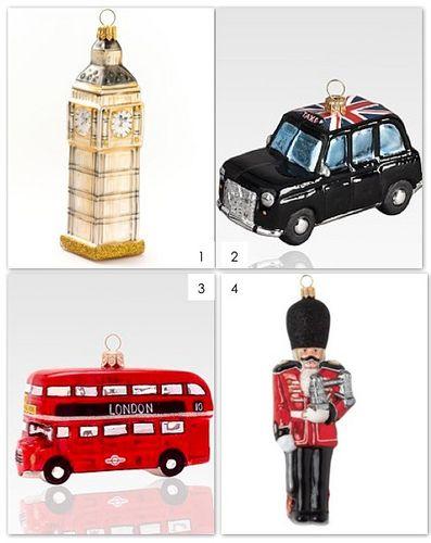 London Souvenir Tree Ornaments by Design Wotcha! http://designwotcha.com/, via Flickr