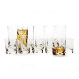 Plaza Glass, 12 PC #tablebystokes