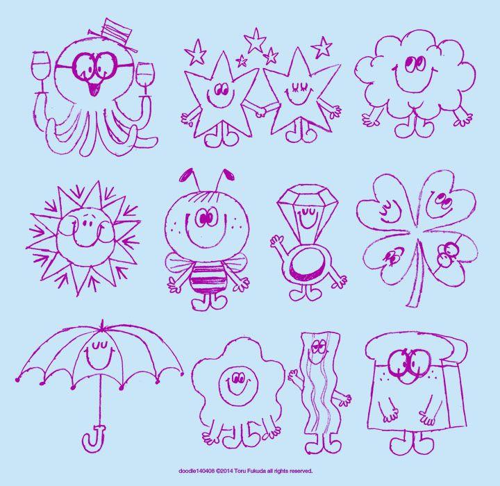 Doodle wonder by Toru Fukudu