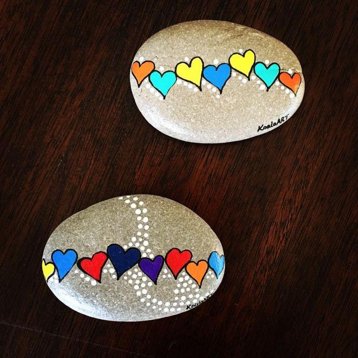 52 Romantic Valentine Painted Rocks Ideas DIY For Girl