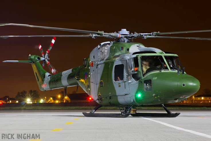 British Army Air Corps, Westland Lynx AH7, XZ196.