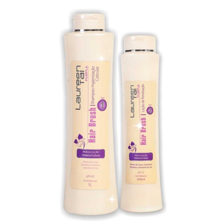 LINHA HAIR BRUSH -  ENERGIZA, RESTAURA E PEROLIZA - Linha elaborada para dar rapidez ao cabeleireiro em seus processos de finalização a quente. Com Extrato de Cacau, Queratina, Proteínas e Óleo de Semente de Uva, proporcionando aos cabelos um toque de seda, selagem perfeita de cutículas, acentuação da cor, prolongamento da escova, maleabilidade, flexibilidade, Reposição hídrica.  Indicação: Todos os tipos de cabelos.