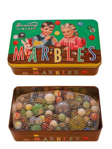 Marmorikuulat peltirasiassa / Lapsille / Colore