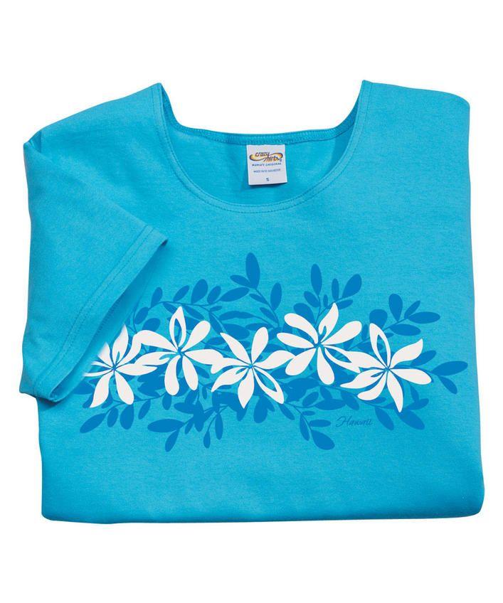 Highlands - Aquatic Scoop-Neck T-Shirt