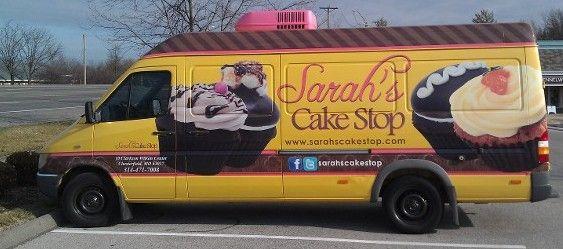 sarahs cake stop sarahs cake stop cupcake dessert food truck sarahs cake shop food trucks pinterest cupcake wedding cakes saint louis