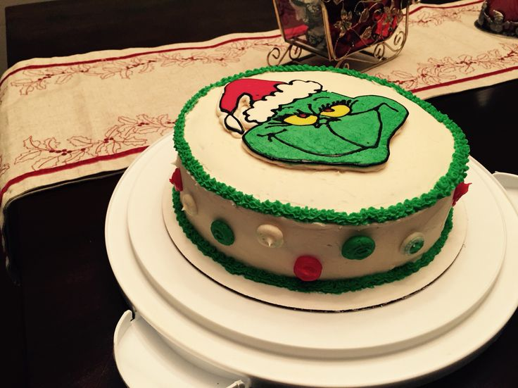 The 25+ best Grinch cake ideas on Pinterest | Grinch party ...