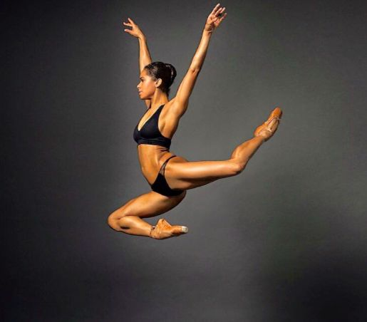 Misty Copeland's writing a book about health and wellness