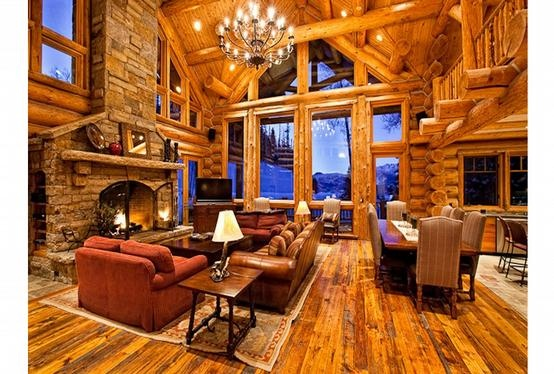 : Living Area, Dreams Houses, Living Rooms, Logs Cabins, Cozy Rooms, Cabins Living, Logs Home Interiors, Country Life, Logs Houses