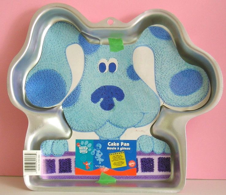 Blues Clues Cake Pan Instructions