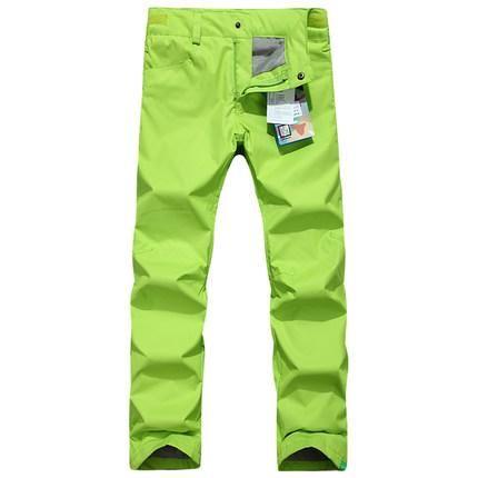 CHEAP COLORFUL SKI PANTS WOMEN SONWBOARD PANTS WATER RESISTANT PANTALONES ESQUI SKI SNOW PANTS PANTALON SKI FEMME