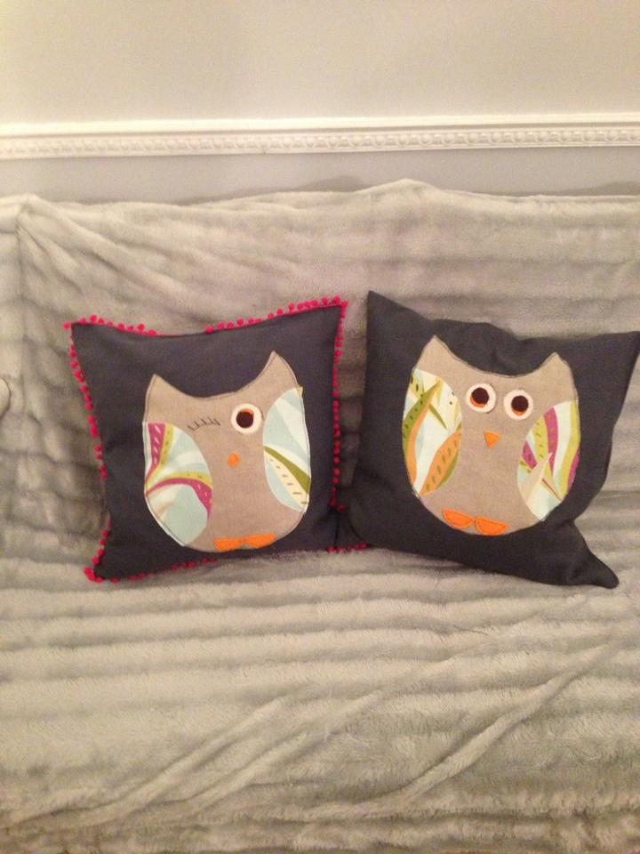 My first handmade cushions