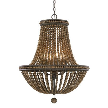 Illie Chandelier Living Rooms Beads And Joss And Main