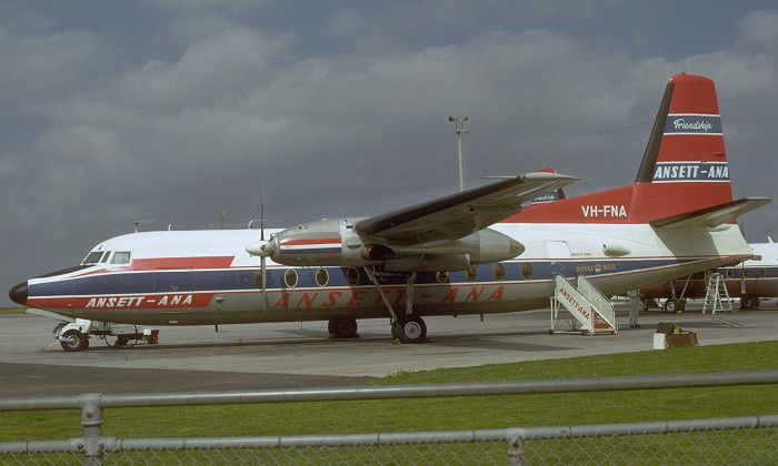 VH-FNA Fokker F.27 Friendship
