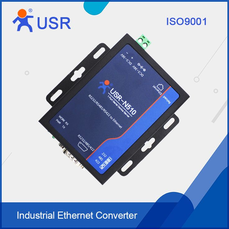 USR-N510 RS232 Serial device servers Modbus gateway RS232/RS485/RS422 to Ethernet RJ45 Free shipping