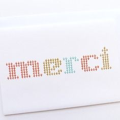 31 best Cartes Brodes images on Pinterest Paper embroidery