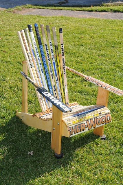 Captivating We Have Been Making The Muskoka Hockey Stick Chairs For About 5 Years And  On Monday We Will Start 4 More.