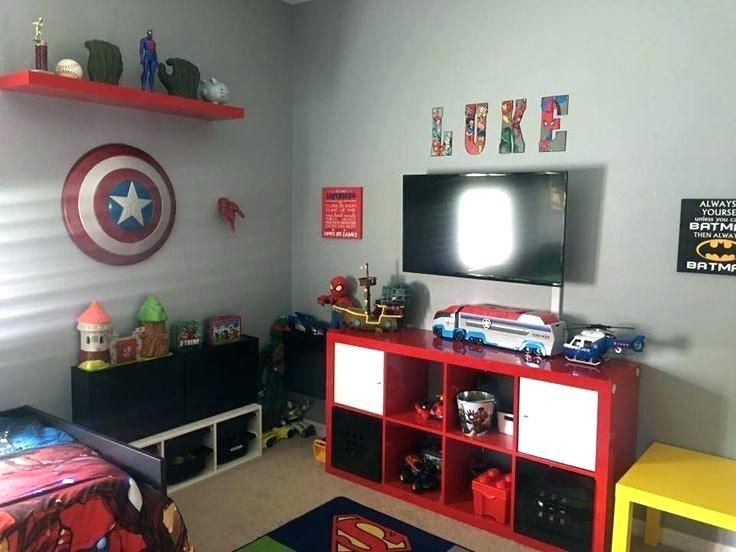 41 Best Kids Room Ideas Decoration And Creative Superhero Room