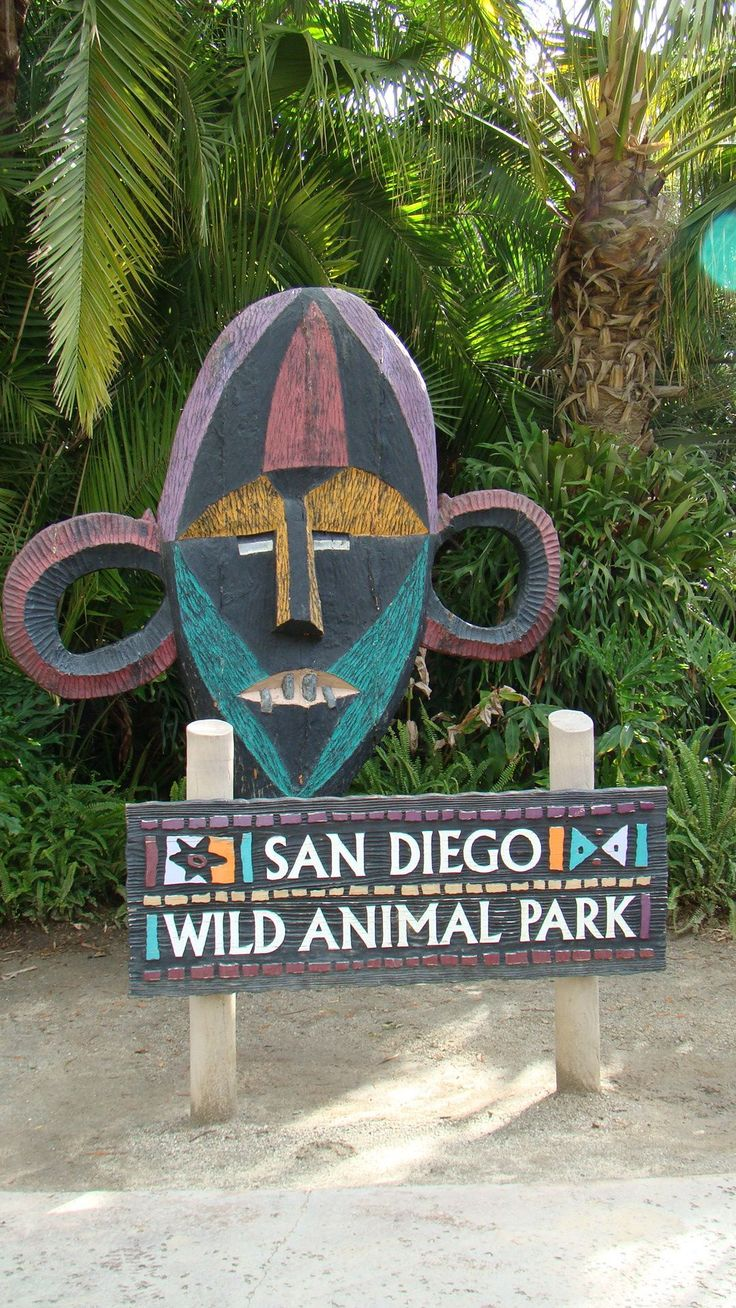 San Diego Wild Animal Park - went all the time as a kid with my Dad, he loved the monkeys.