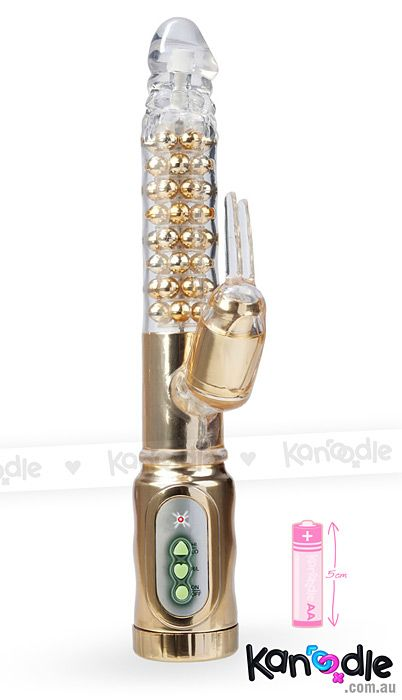 Extreme Pure Gold Rabbit Vibrator by @CalExotics - http://bit.ly/1oAaV1p