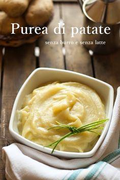 Purea di patate senza burro e senza latte