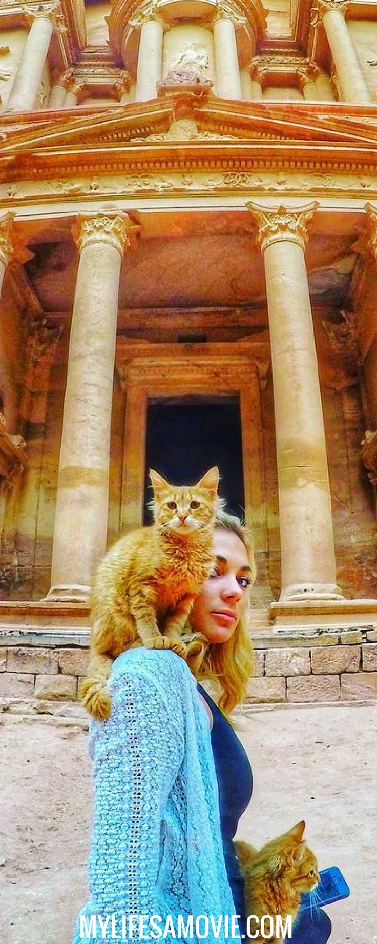 How to Safely Plan a Solo Trip to Petra, one of the 7 Wonders of the World in Jordan. Solo travel in the Middle East doesn't have to be scary as long as you know how to plan it!