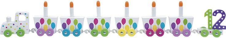 Jabadabado, Födelsedagståg, Ballong - Leksaker