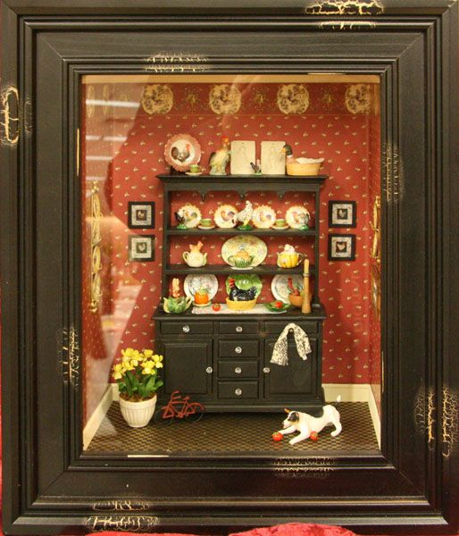 116 Best Images About Miniature Shadow Box Rooms On