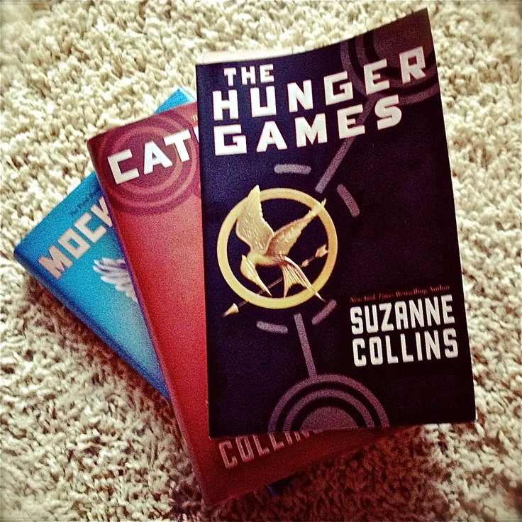 hunger games trilogy - not usually my genre, but I couldn't put them down.