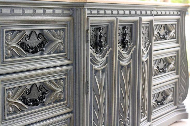 Painted Dresser in Pencil Tip Grey...